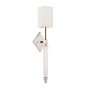 Polished Nickel Five-Inch One-Light Sconce