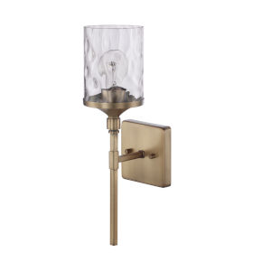 HomePlace Colton Aged Brass 17-Inch One-Light Wall Sconce