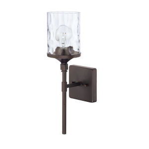HomePlace Colton Bronze 17-Inch One-Light Wall Sconce