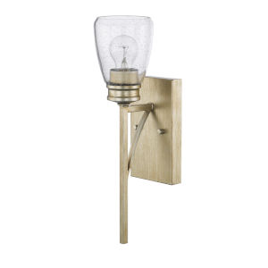 HomePlace Newbury Winter Gold 17-Inch One-Light Wall Sconce