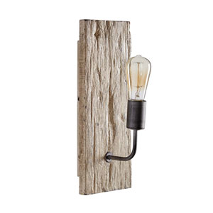 Tybee Wood One-Light Sconce
