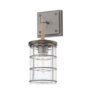 Colby Urban Gray One-Light Sconce
