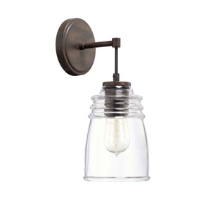 Turner Nordic Grey One-Light Sconce
