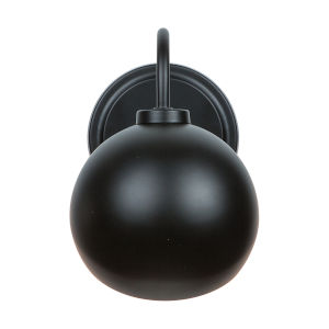 Hadley Matte Black One-Light Sconce