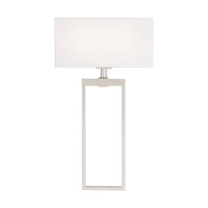 Polished Nickel Two-Light Sconce