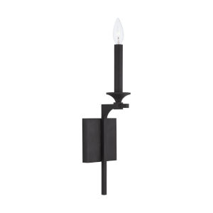 Clint Black Iron One-Light Sconce