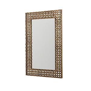 Aged Brass 26-Inch Mirror