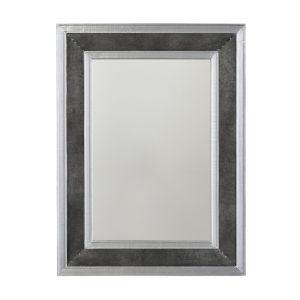Mirror Galvanized Black and Aluminum Mirror