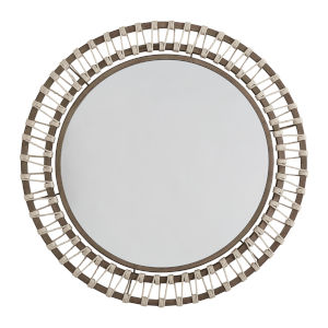 Grey Wash and Grey Iron One-Light Mirror