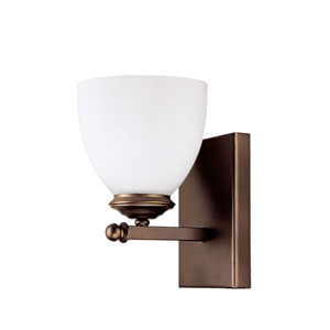 Chapman Burnished Bronze Five-Inch One-Light Sconce