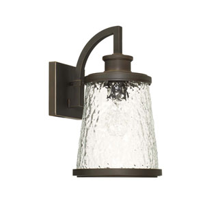 Tory Oil Rubbed Bronze Eight-Inch One-Light Outdoor Wall Lantern