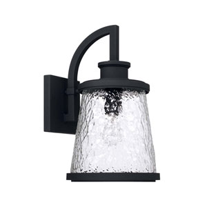 Tory Black 10-Inch One-Light Outdoor Wall Lantern