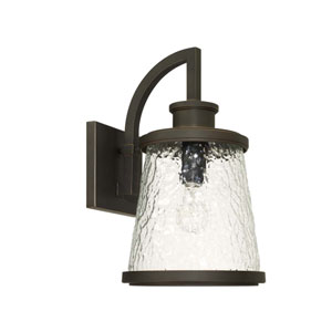 Tory Oil Rubbed Bronze 10-Inch One-Light Outdoor Wall Lantern