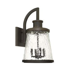 Tory Oil Rubbed Bronze Four-Light Outdoor Wall Lantern
