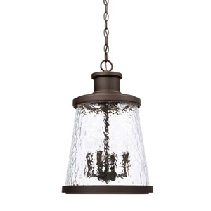 Tory Oil Rubbed Bronze Four-Light Outdoor Hanging Lantern