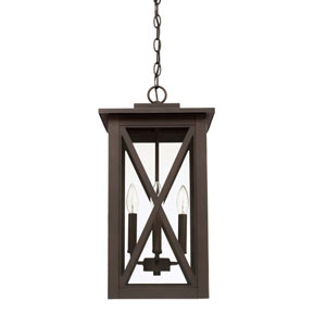 Avondale Oil Rubbed Bronze Four-Light Outdoor Hanging Lantern