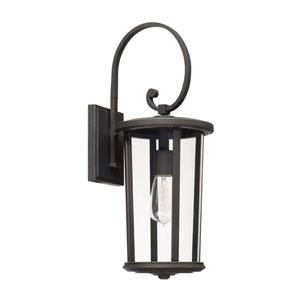 Howell Oil Rubbed Bronze One-Light Outdoor Wall Lantern