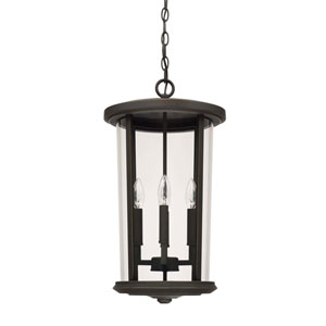 Howell Oil Rubbed Bronze Four-Light Outdoor Hanging Lantern