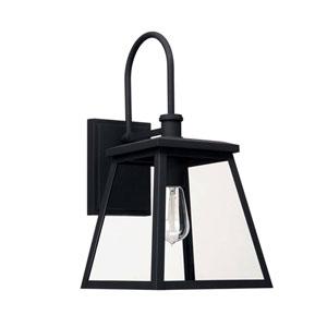 Belmore Black Nine-Inch One-Light Outdoor Wall Lantern