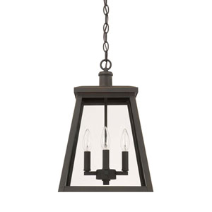Belmore Oil Rubbed Bronze Four-Light Outdoor Hanging Lantern