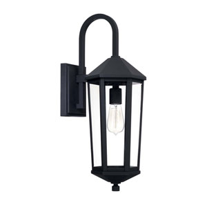 Ellsworth Black One-Light Outdoor Wall Lantern