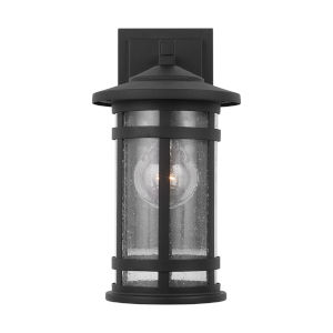 Mission Hills Black One-Light Outdoor Wall Lantern
