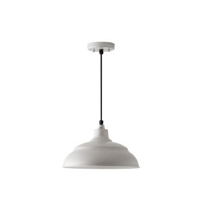 RLM Galvanized One-Light Outdoor Hanging Pendant
