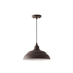 RLM Oiled Bronze One-Light Outdoor Hanging Pendant