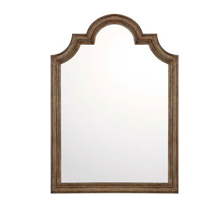Tawny Arched Wall Mirror