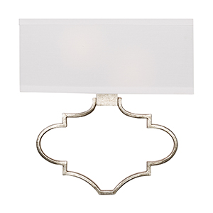 Marisell Antique Silver 13-Inch Two-Light Sconce