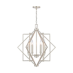 Winter Gold 28-Inch Six-Light Pendant
