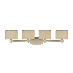 Luna Winter Gold Four-Light Bath Fixture