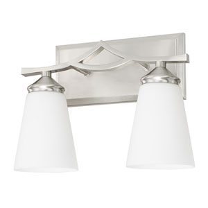 Boden Brushed Nickel Two-Light Vanity
