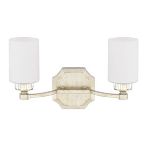 Olivia Winter Gold Two-Light Vanity