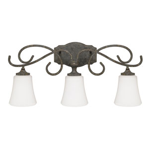 Everleigh French Greige Three-Light Vanity