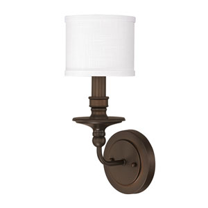 Midtown Burnished Bronze One-Light Sconce