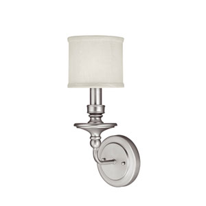 Midtown Matte Nickel One-Light Sconce