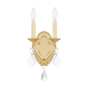 Blakely Capital Gold Two-Light Sconce