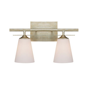 Soho Winter Gold Two-Light Bath Fixture