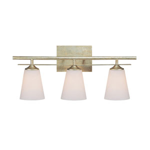 Soho Winter Gold Three-Light Bath Fixture