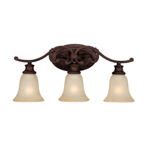 Hill House Three-Light Bath Fixture
