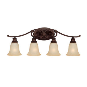Hill House Four-Light Bath Fixture