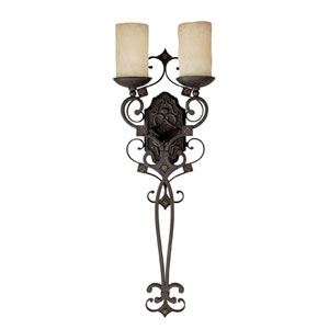 River Crest Two-Light Wall Sconce