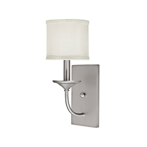 Loft Matte Nickel One-Light Sconce