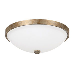Ansley Sable Two Light Flush Mount