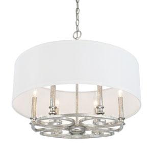 Corrigan Antique Silver Six-Light Pendant