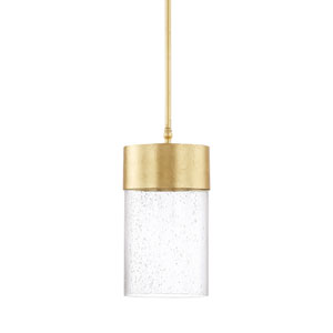Regan Capital Gold One-Light LED Mini Pendant