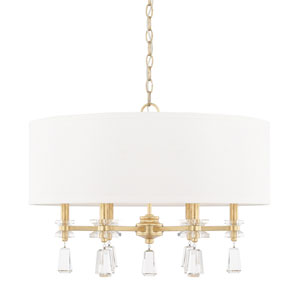 Milan Capital Gold Six-Light Pendant