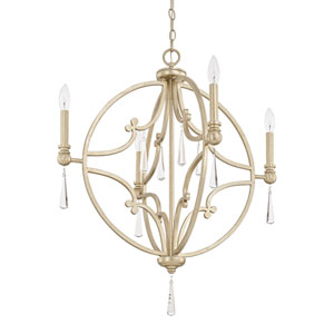 Mercer Winter Gold 26-Inch Four-Light Pendant