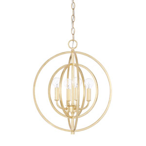 Capital Gold Four-Light Pendant